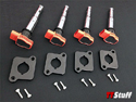 IE - FSI/TSI Coilpack Adapter Kit - Black-Red