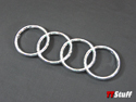 OEM - Audi Rings Badge - Front - Chrome - TT Mk1